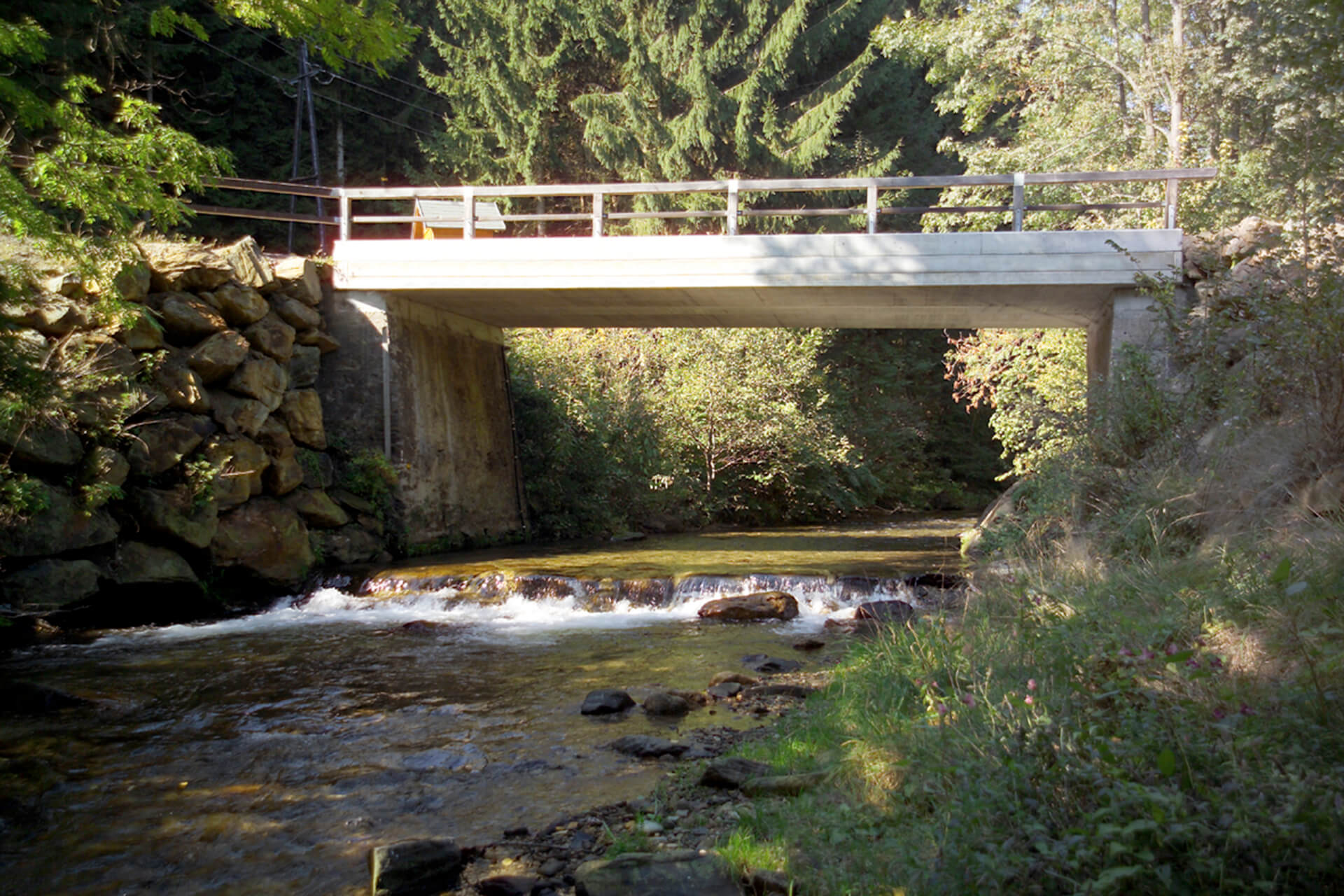Kammel Fertigteil Brücke